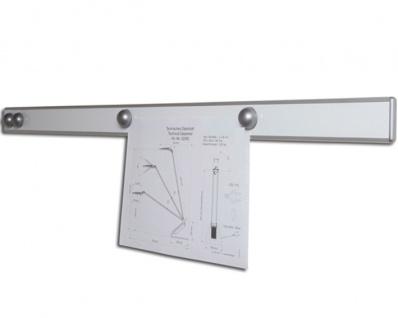 Magnet-Wandschiene Maul Design silber
