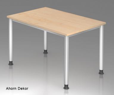 Schreibtisch Hammerbacher H-Serie 120 x 80 cm Ahorn Dekor