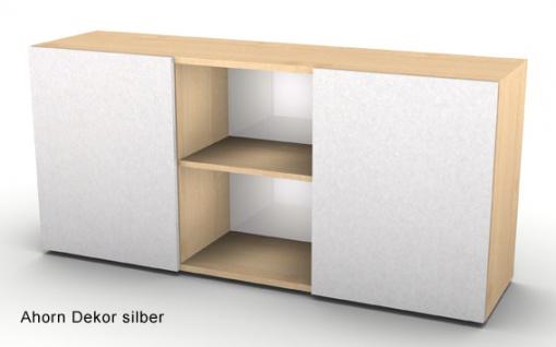 Schwebetürenschrank Hammerbacher Ulmer Somit 2OH 160 x 42 x 75 cm Farbauswahl