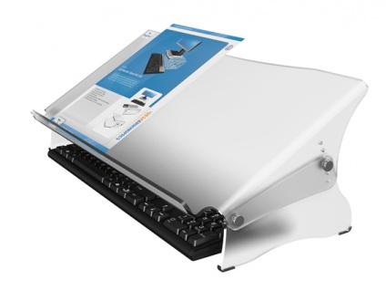Blatthalter Datafex verstellbar Acryl matt Top Vor-Ort-Artikel