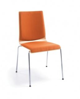 Konferenzstuhl Profi M Resso 3 Sitz und Rücken gepolstert Auswahl Farbe Optionen