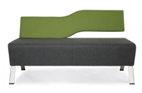 Sitzbank Profim UpDown 2-Sitzer Lehne rechts Auswahl Farbe Optionen