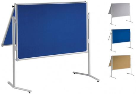Präsentationstafel Maul Pro Pinnwand klappbar Textil blau