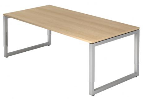 Schreibtisch Hammerbacher R-Serie 200 x 100 cm Eiche Dekor
