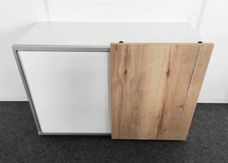 Schiebetüren-Büro Sideboard Expendo Line Exklusiv 120 cm 2 OH Auswahl Farbe Optionen