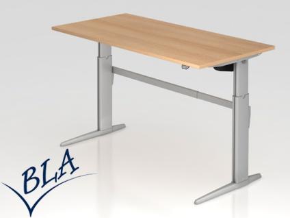 Schreibtisch Hammerbacher XE Elektro 160 x 80 cm Eiche Dekor