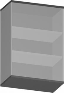 Aufsatz Büroregal Pendo Vari Edo 3 OH 80 x 112 cm Auswahl Farbe Optionen