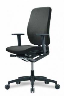 Bürostuhl GMR Gobeline 6 MA schwarz oder blau schnell