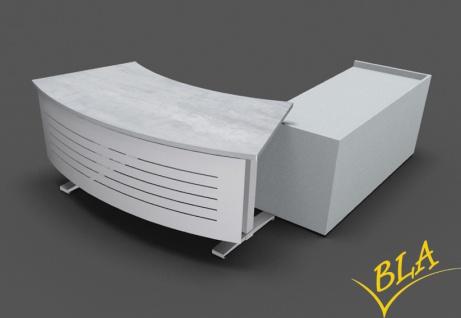 Chefschreibtisch Kombination Pendo Polar elektrisch Wing Future HPTC