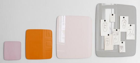 Glastafel LTX Klar Low Wand 100 x 100 cm Auswahl Farbe Optionen