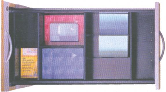 Schreibtischcontainer Schubladen Set 7 für Pendo-Container