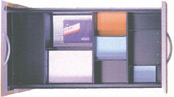 Schreibtischcontainer Schubladen Set 5 für Pendo-Container