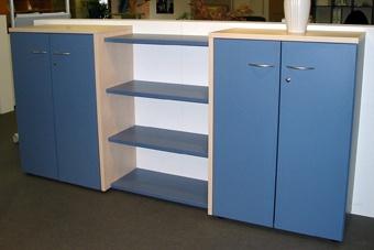 Büro Sideboard Pendo Multi Design 240 x 112 x 44 cm 3 OH Auswahl Farbe Optionen