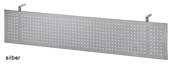 Schreibtisch Hammerbacher H-Serie 180 x 80 cm Eiche Dekor