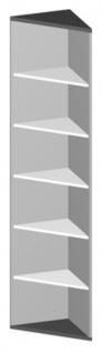 Eckregal Pendo Vari Edo 6 OH 44 x 224 cm gerade Auswahl Farbe Optionen