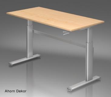 Schreibtisch Hammerbacher XK-Serie 160 x 80 cm Ahorn Dekor