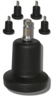 Satz Filzgleiter für Bürostuhl Stift 11 mm 60 mm Vor-Ort-Artikel