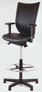 Counterstuhl Chairsupply 777 Automatik Echtleder