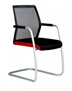 Freischwinger Konferenzstuhl Rovo Chair R16 3450 Netz Auswahl Farbe Optionen