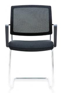 Freischwinger Besucherstuhl Rovo Chair ER012 Netz Auswahl Farbe Optionen