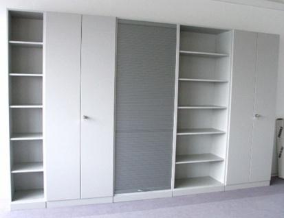 Büro Schrankwand Pendo Vari N 360 x 224 x 44 cm 6 OH Auswahl Farbe Optionen