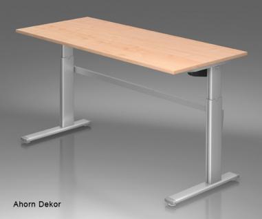 Schreibtisch Hammerbacher XM-Serie Elektro 200 x 100 cm Ahorn Dekor