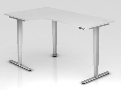 L-Schreibtisch elektrisch höhenverstellbar Hammerbacher Xanten Aktiv 200 x 120-80 cm Auswahl