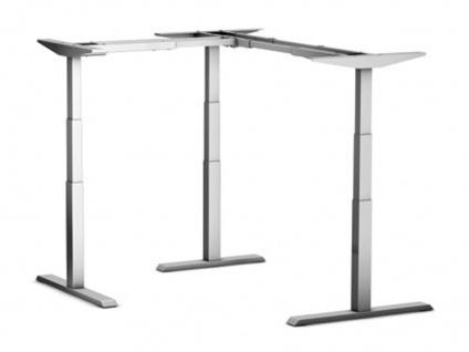 Tischgestell elektrisch höhenverstellbar ATI Elektro Akzent L-Form R in XL Auswahl Farbe Optionen