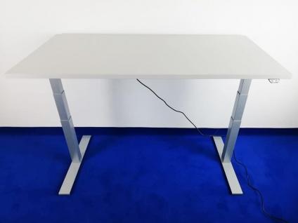 Schreibtisch elektrisch höhenverstellbar Pendo Polar Eco Auswahl Farbe Größe Optionen