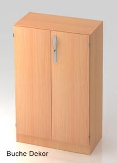 Büroschrank Hammerbacher Solid SS 3 OH Türen 80 x 42 x 127 cm Buche Dekor