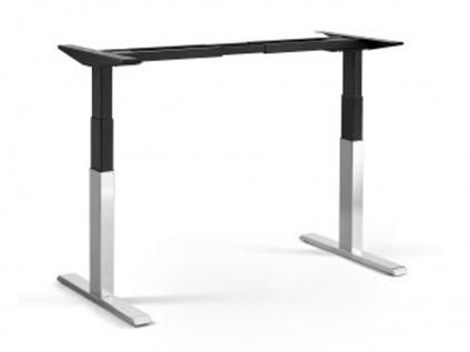 Tischgestell elektrisch höhenverstellbar ATI Akzent elektro chrom schwarz
