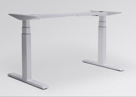 Tischgestell elektrisch höhenverstellbar ATI Akzent Elektro weiss