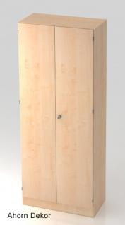 Garderobenschrank Hammerbacher Solid S 5OH Türen 80 x 42 x 201 cm Ahorn Dekor