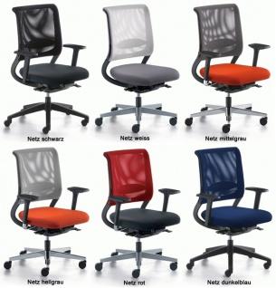Bürostuhl SDS Netz Win MA Auswahl Optionen Farbe