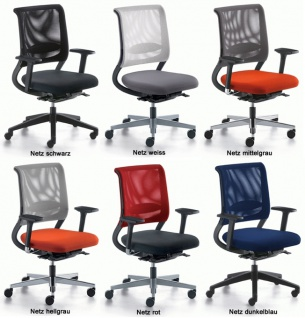 Bürostuhl Sedus Stoll Netz Win MA Auswahl Optionen Farbe