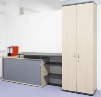 Büro Schrankkombination Pendo Vari Edo 280 cm 6 OH Auswahl Farbe Optionen