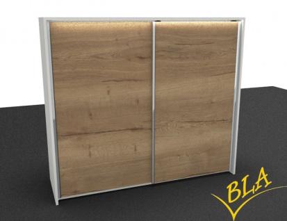Schwebetürenschrank Expendo Grande Line 240 x 227 x 50 cm 6 OH Auswahl Farbe Optionen
