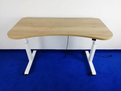 Schreibtisch elektrisch höhenverstellbar Pendo ATI Akzent 160 x 80 cm Top Vor-Ort-Artikel