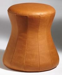 Polsterhocker Sitzkegel Löffler Fan Go 2 Leder Auswahl Farbe