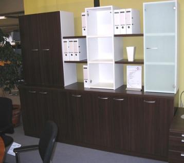 Büro Schrankwand Pendo Vari N 240 x 196 x 44 cm 5 OH Auswahl Farbe Optionen