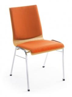 Konferenzstuhl Profi M Ligo 3 Sitz Rücken gepolstert Auswahl Farbe Optionen