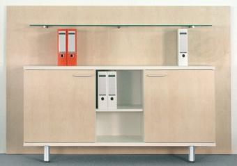Büro Sideboard Kombination Pendo Vari E 204 cm 2-5 OH Auswahl Farbe Optionen