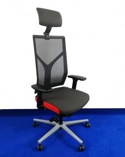 Drehstuhl RVC ER016 KS Netz Ergo Balance Auswahl Farbe Optionen