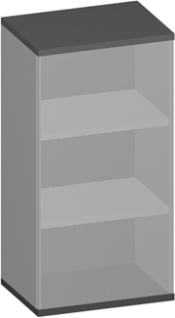 Büroregal Pendo Vari Edo 3 OH 60 x 115 x 44 cm Auswahl Farbe Optionen