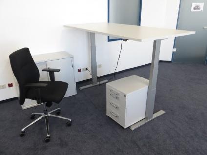 Bürotisch elektrisch höhenverstellbar Pendo ATI Akzent Auswahl Form Farbe Größe