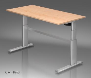 Schreibtisch Hammerbacher XM Elektro 160 x 80 cm Ahorn Dekor