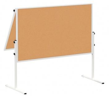Präsentationstafel Maul Solid Korkwand klappbar