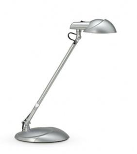LED-Design Tischleuchte Maul Storm silber
