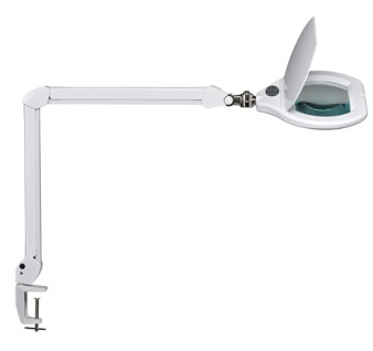 LED Lupenleuchte Maul Crystal dimmbar