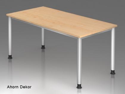 Schreibtisch Hammerbacher H-Serie 160 x 80 cm Ahorn Dekor